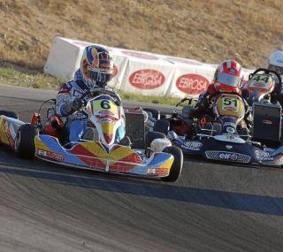 Aragón, referente del karting