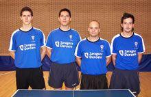 El equipo masculino de tenis de mesa de Helios asciende a la Primera División nacional