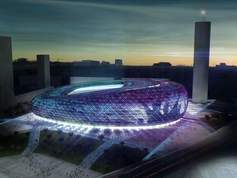 Presentación del nuevo campo de fútbol
