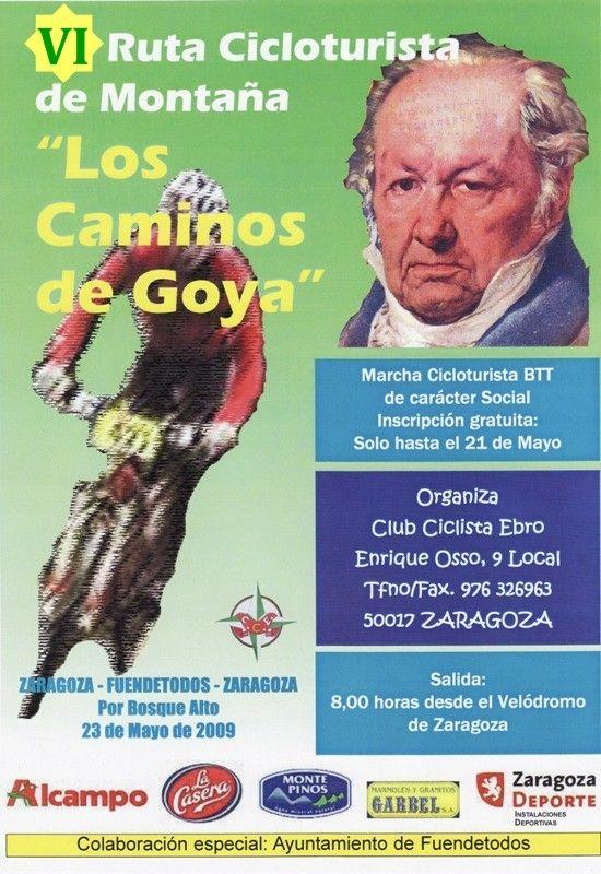 VI Marcha para BTT «Por los caminos de Goya»