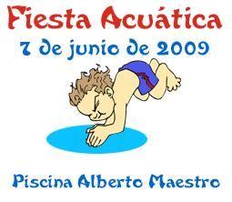 Reserva online tu plaza en la FIESTA ACUÁTICA 2009