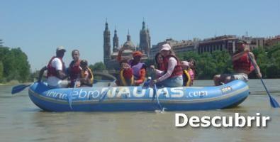 Programa de «Descensos guiados por el Ebro»
