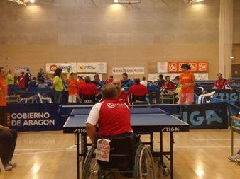Tres platas y dos bronces para CAI Deporte Adaptado en el Campeonato de España de tenis de mesa