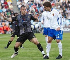 El Real Zaragoza alega por la tarjeta de Ponzio