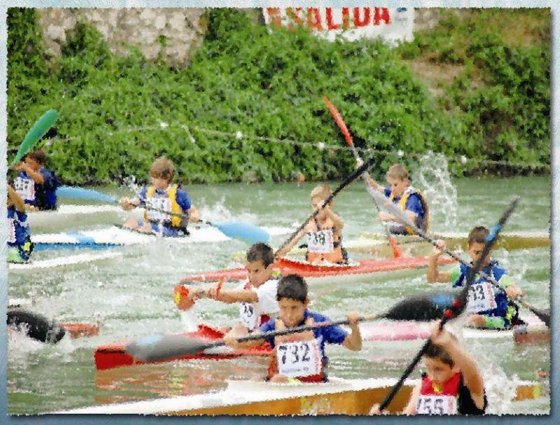 1ª prueba de la VIII COPA de ESPAÑA de Promoción en Aguas Tranquilas