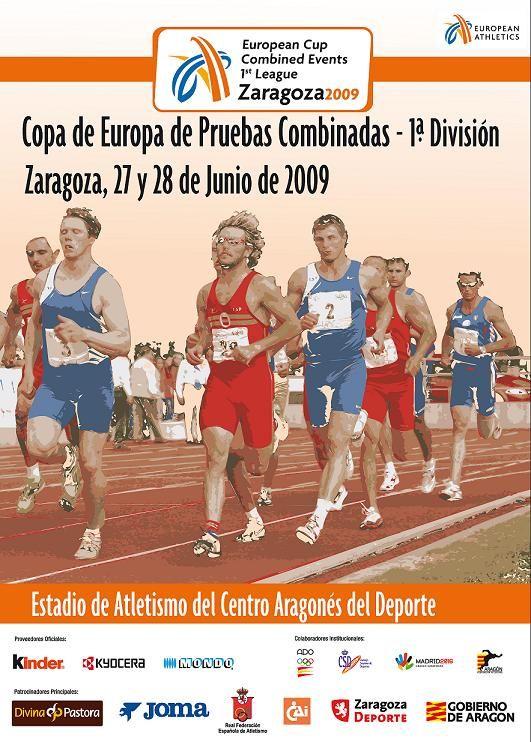 Copa de Europa de Pruebas Combinadas, 1ª división