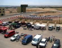150 pilotos participan en la jornada de puertas abiertas en Motorland Aragón
