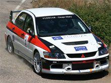 Guillermo Aso logra su tercera victoria en el Rally Zaragoza