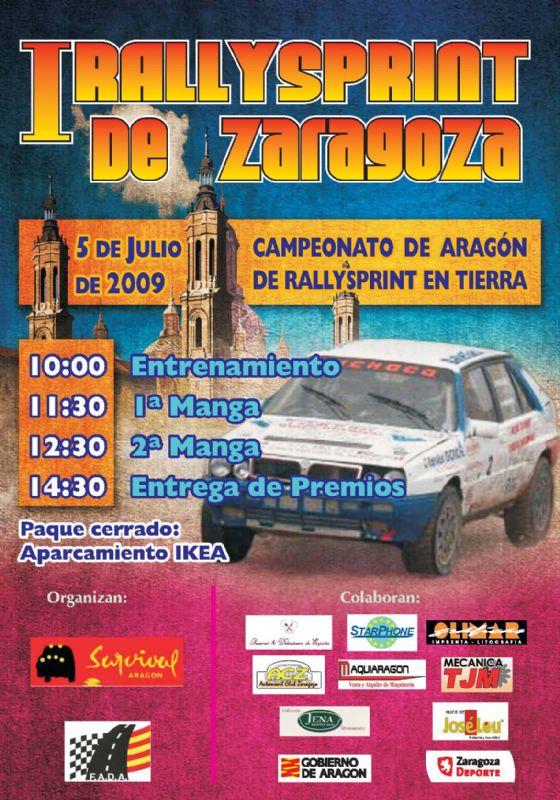 I Rallysprint Ciudad de Zaragoza
