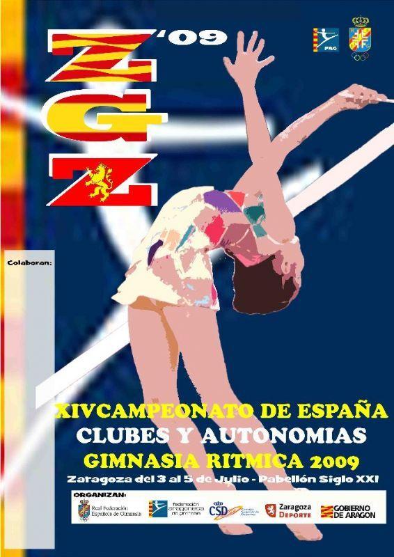 Resultados del XIV Campeonato de España de clubes y autonomías de Gimnasia Rítmica celebrado en Zaragoza(2 al 5 de Julio)