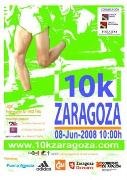 La tercera edición de la carrera popular contra el cáncer, 10k zaragoza apunta a récord.