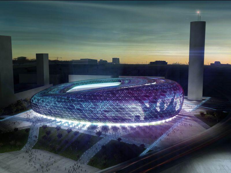 Nuevo campo de fútbol del Zaragoza. Extracto de aspectos básicos desarrollados