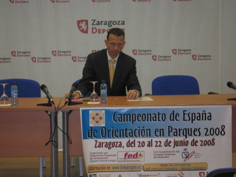 Presentada en rueda de prensa el «Campeonato de España de Orientación en parques»