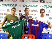 Los nuevos fichajes del Huesca vienen con ganas de trabajar y dispuestos a darlo todo en el terreno de juego
