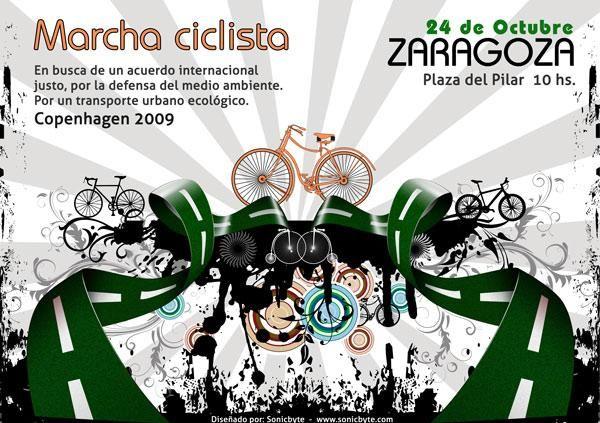 Marcha ciclista Zaragoza