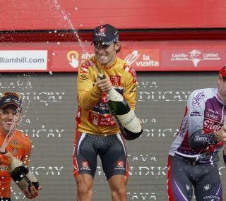 Valverde celebra en la Cibeles su primer gran título