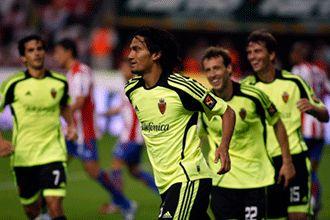 El Real Zaragoza manda señales de vida