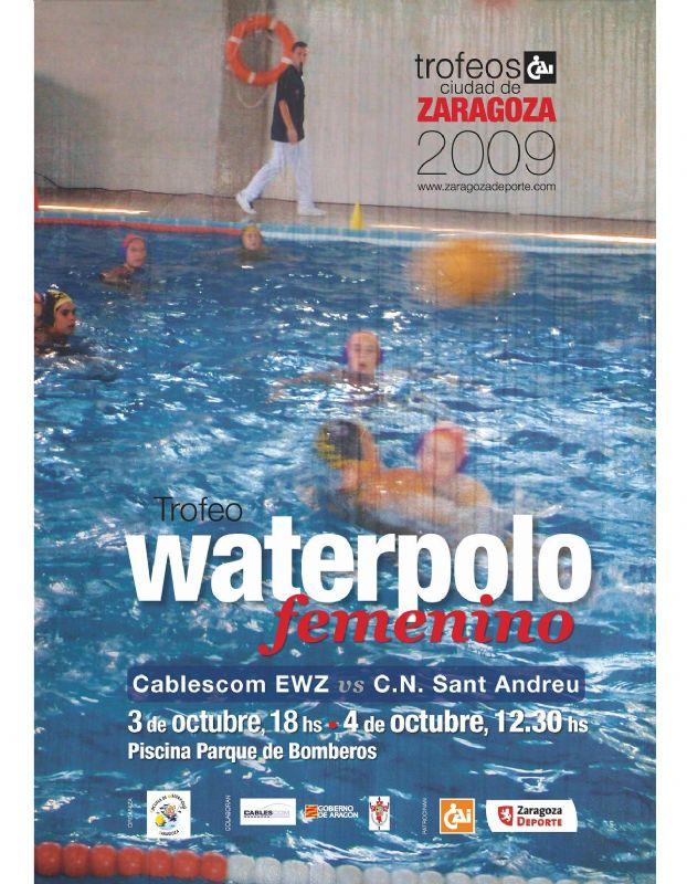 Trofeo «CAI Ciudad de Zaragoza» Waterpolo femenino