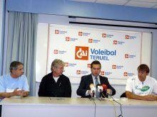 Teruel recibe la visita del campeón francés Tours VB que jugará varios amistosos con el CAI Voleibol Teruel