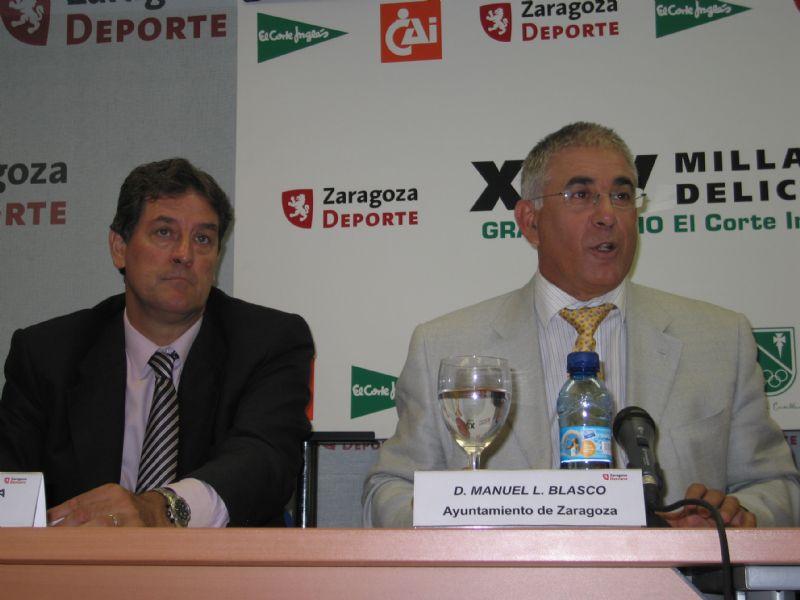 Presentada en rueda de prensa la «XXV Milla Internacional de Delicias»                                                      02/09/2008