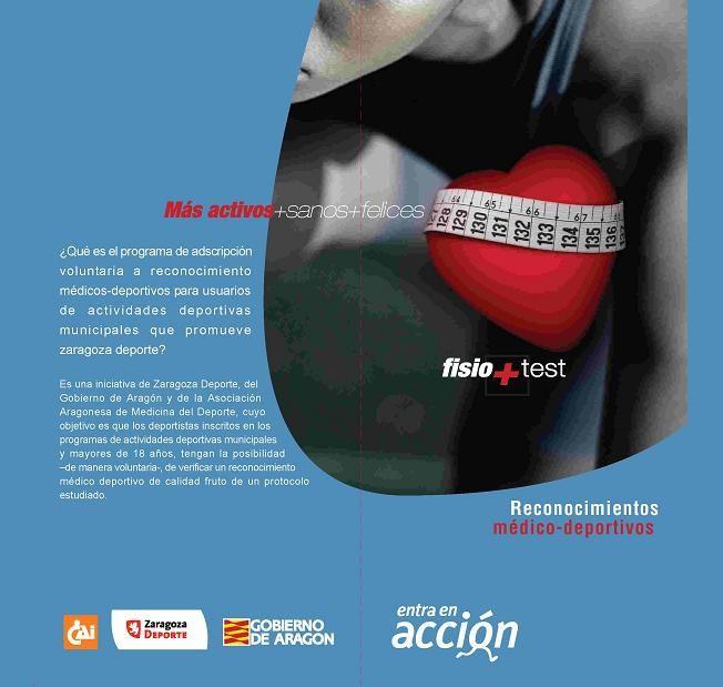 Programa de Reconocimientos médico-deportivos 09/10 «Entra en Acción»