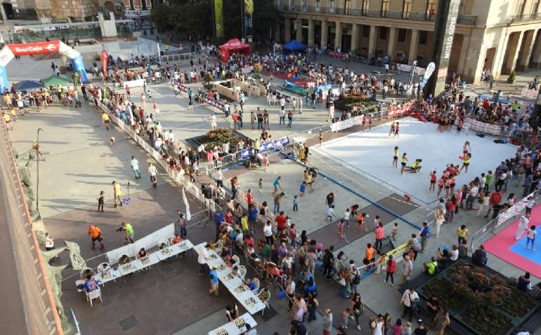 El deporte toma este fin de semana la plaza del Pilar con actividades para todos los públicos