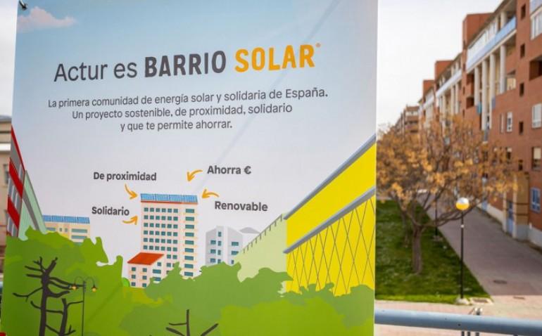 Los pabellones municipales Siglo XXI y Actur V, fuentes de energía limpia