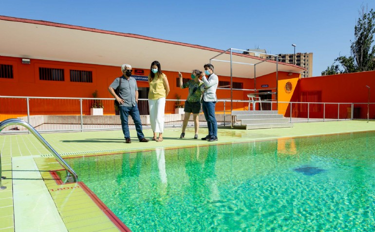 Las piscinas municipales abren el sábado 12 de junio la temporada de verano, con nueva app para adquirir la entrada desde el móvil