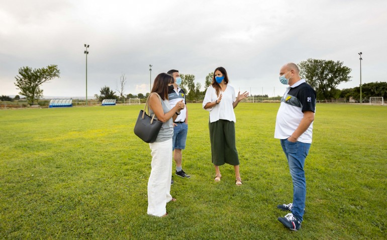 El Ayuntamiento renovará el césped de once campos municipales de fútbol con una inversión de 3 millones de euros