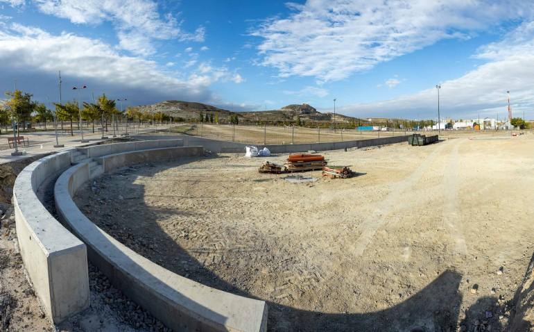 El Ayuntamiento invierte 218.905 euros en instalaciones deportivas de Valdespartera, Las Fuentes y La Cartuja