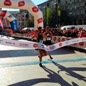 3.000 valientes cruzan la meta en la XXII EDP Media Maratón Trofeo «Ibercaja-Ciudad de Zaragoza»