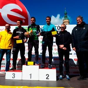 Éxito rotundo de participación en la Mann-Filter XIII Maratón «Ciudad de Zaragoza»