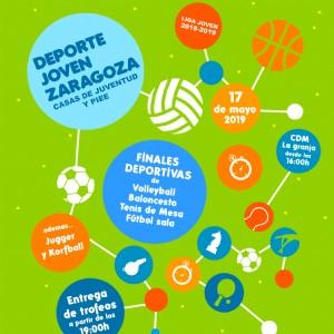 La gran fiesta del deporte juvenil de Zaragoza llega este viernes al CDM La Granja y al pabellón «Príncipe Felipe»