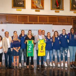 El Ayuntamiento de Zaragoza recibe al Mann Filter Stadium Casablanca