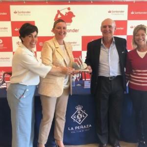 La Peñaza recibe el Santander Golf Tour femenino