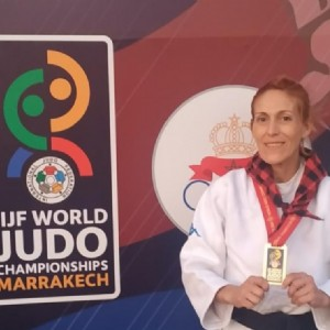 La zaragozana Ana Belén Fernández, campeona del mundo de judo