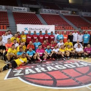 CaixaBank y el Ayuntamiento de Zaragoza fomentan la inclusión social a través de un partido entre reclusos, funcionarios, empleados y clientes de CaixaBank