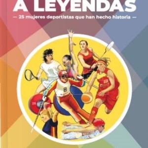 Las historias de los referentes femeninos del deporte recogidas en un libro gratuito