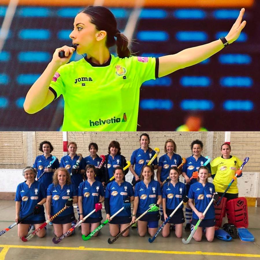 El Ayuntamiento concede los Premios Zaragoza, Mujer y Deporte al equipo de hockey Pilaricas y a la árbitra de balonmano Lorena García