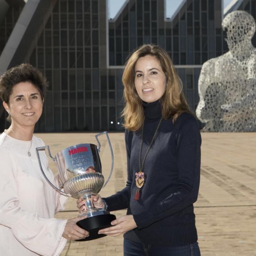 Marta Frías, un silbato ejemplar, Premio Mejor Árbitra