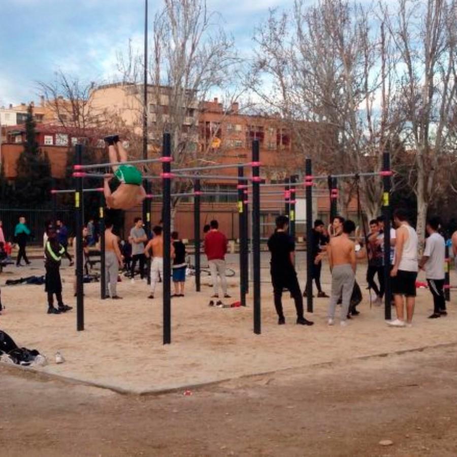 Zaragoza Deporte construirá un nuevo equipamiento de street workout en Movera