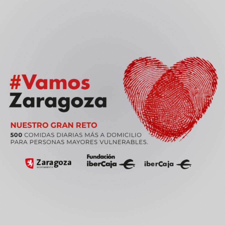 El Ayuntamiento de Zaragoza, Fundación Ibercaja e Ibercaja Banco lanzan la plataforma solidaria Vamos Zaragoza