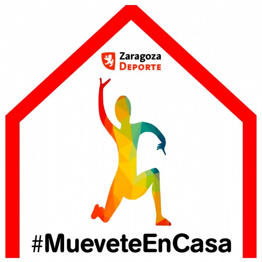 #MueveteEnCasa, el nuevo portal de Zaragoza Deporte para fomentar el ejercicio físico durante el confinamiento