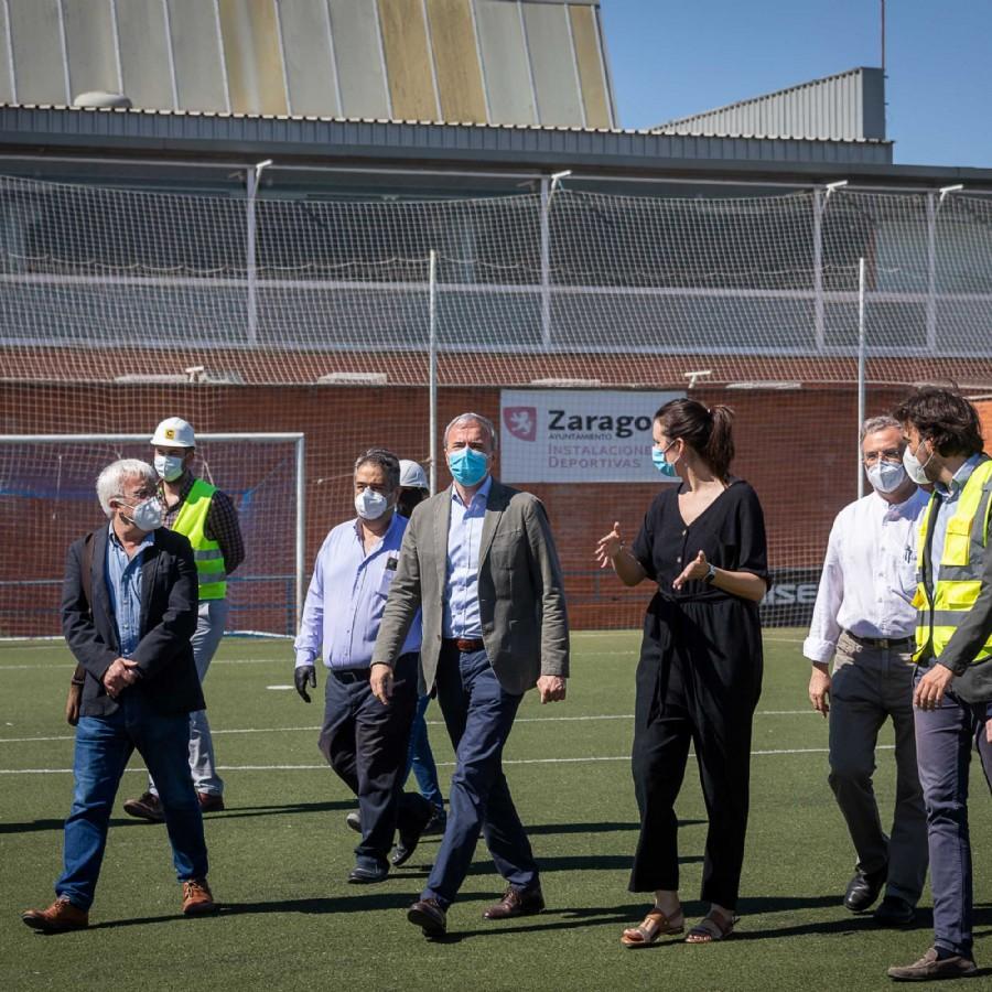 El Campo Municipal de Fútbol César Láinez de Santa Isabel contará con nuevos vestuarios en el mes de julio
