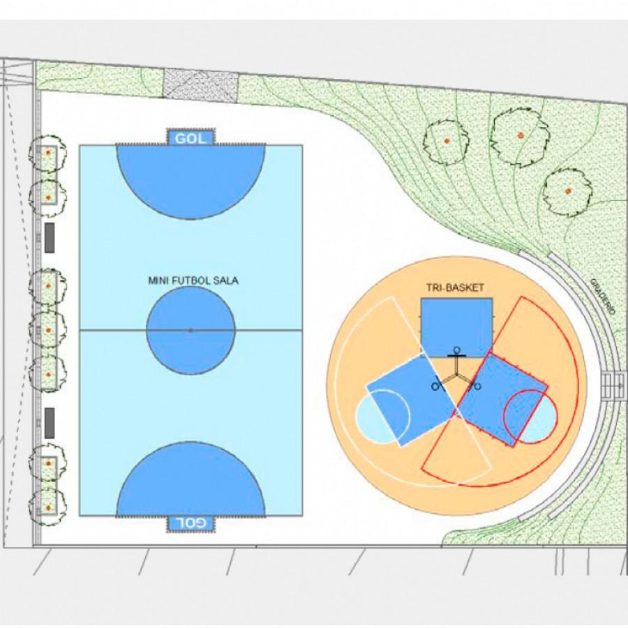Zaragoza Deporte construirá una nueva pista polideportiva de uso libre en Valdespartera