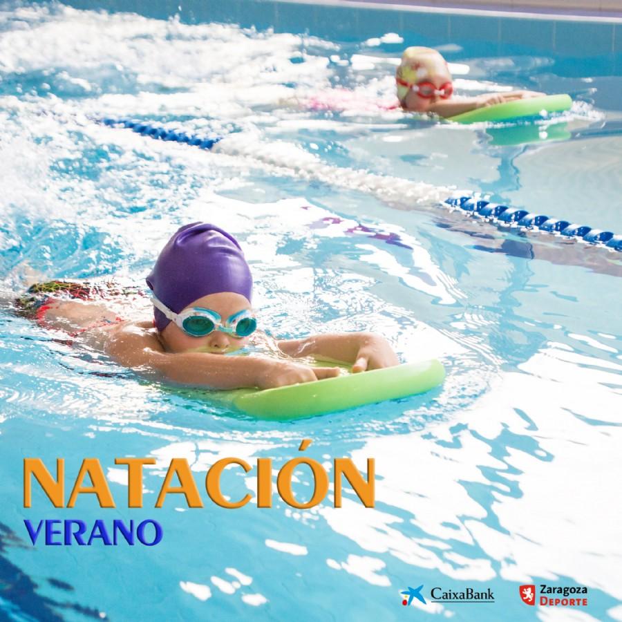 Los cursillos de natación de Zaragoza Deporte vuelven a las piscinas de verano con 778 plazas para niños y niñas de 5 a 13 años