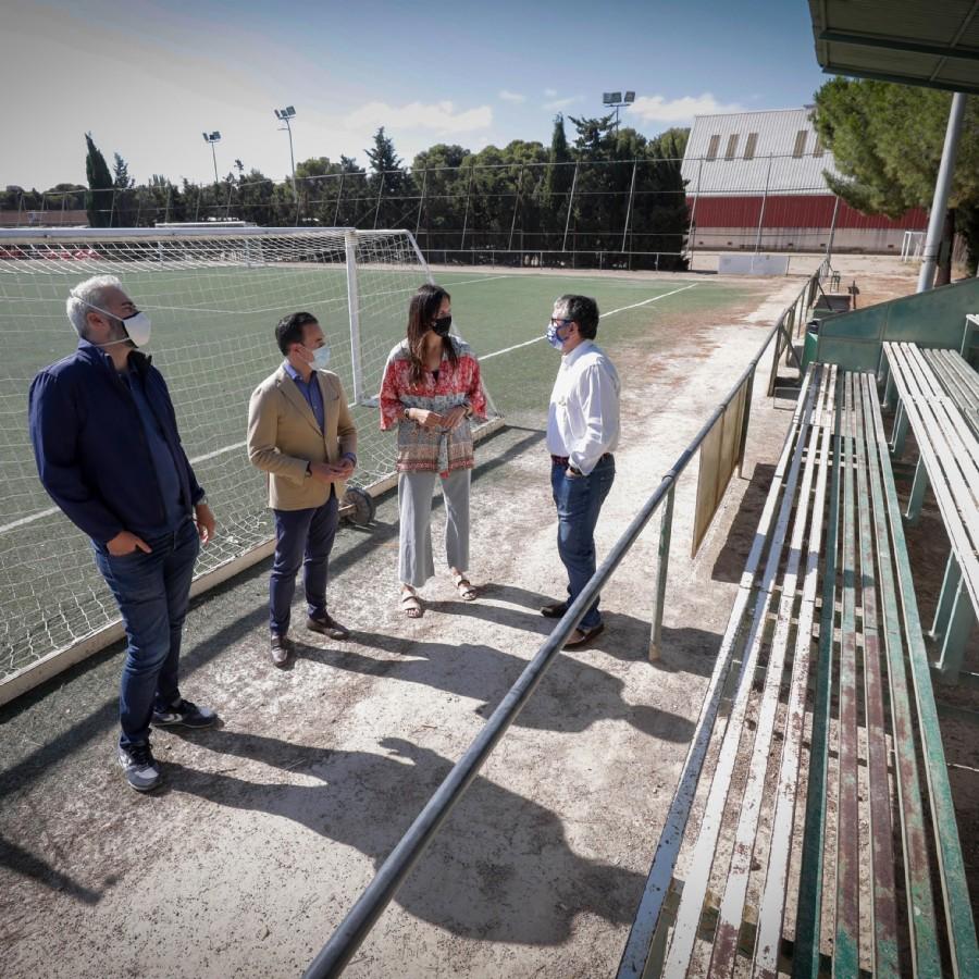 Urbanismo y el Estadio Miralbueno-El Olivar impulsan un acuerdo para la remodelación, puesta en marcha y cesión del CDM Mudéjar