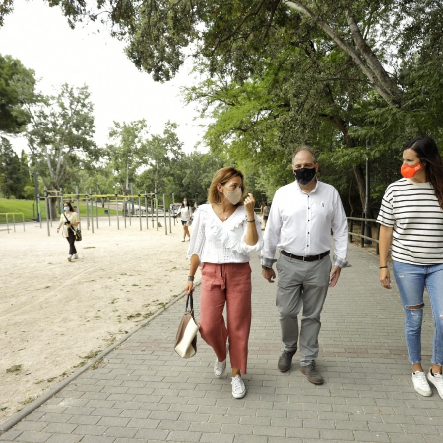 El Parque Grande ampliará su oferta de ocio con una pista para bicicletas y una nueva zona de juegos infantiles