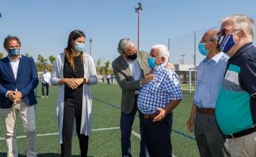 El Campo Municipal de Fútbol Nuevo Fleta estrena vestuarios y sede social, tras una inversión de 834.500 euros