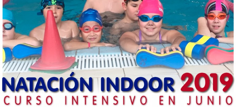 Cursillos intensivos de natación para niños en junio